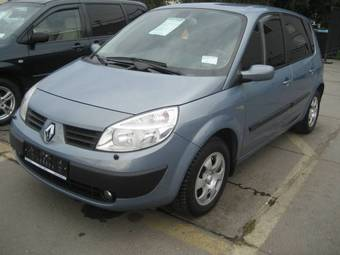 2005 renault scenic pictures gasoline ff automatic for sale. Black Bedroom Furniture Sets. Home Design Ideas