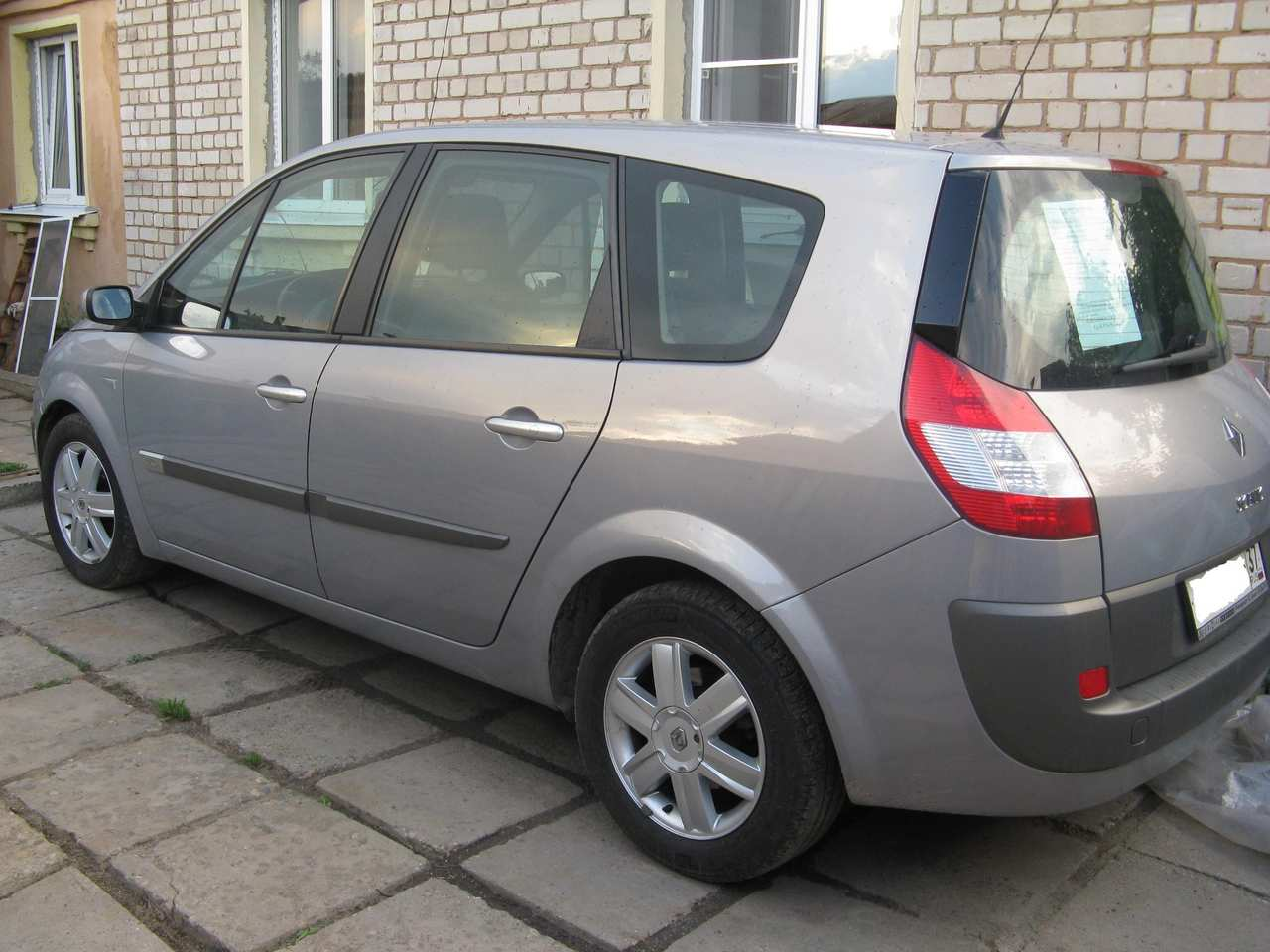 2005 renault scenic pictures diesel ff manual for sale. Black Bedroom Furniture Sets. Home Design Ideas