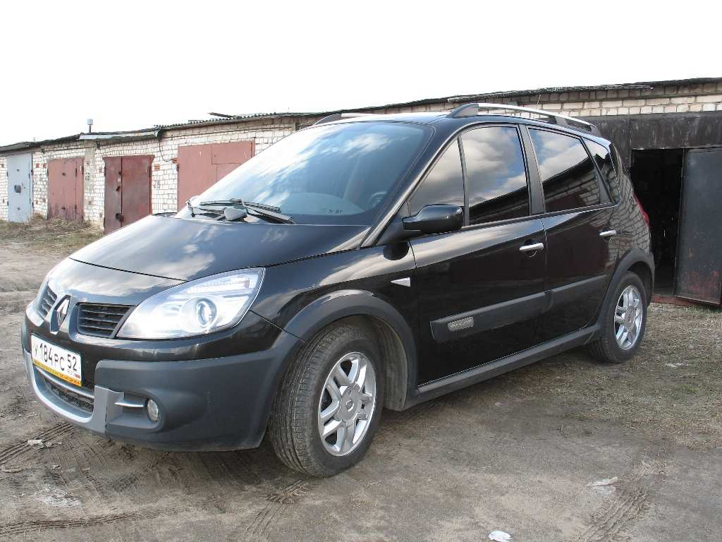 used 2008 renault scenic photos 2000cc gasoline ff manual for sale. Black Bedroom Furniture Sets. Home Design Ideas