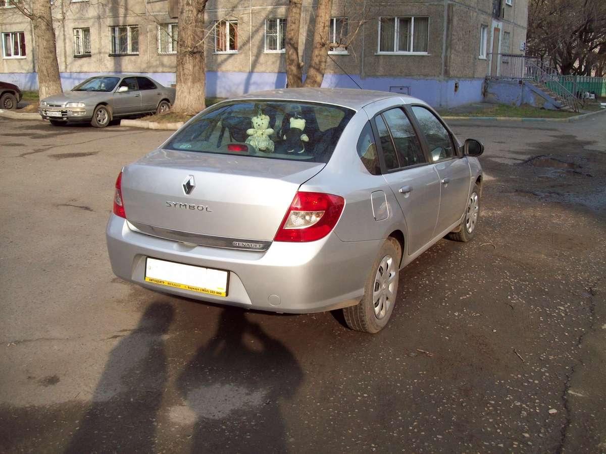 2010 Renault Symbol Pictures 1400cc Gasoline Ff Automatic For Sale
