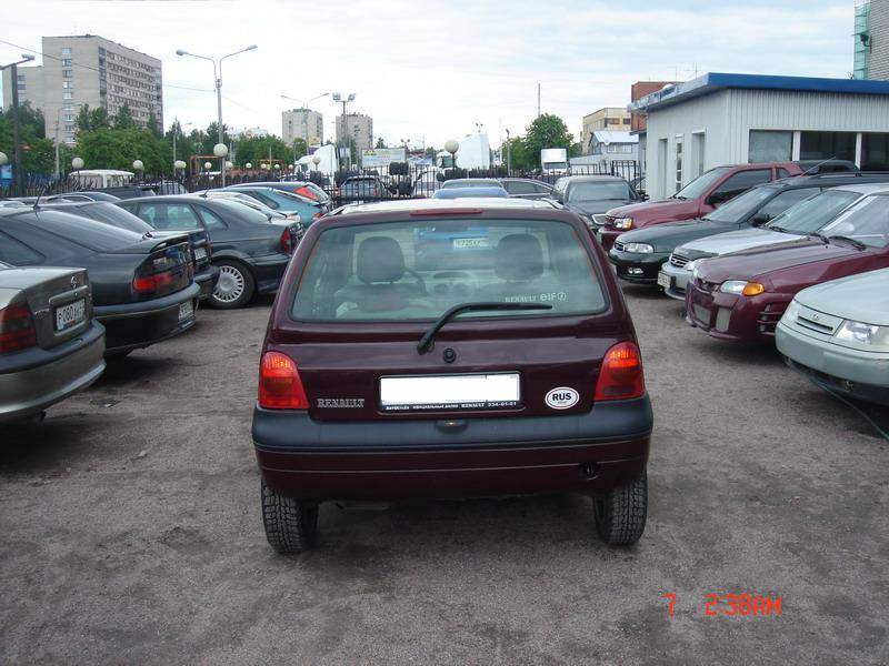 2001 renault twingo photos 1 1 gasoline ff automatic for sale. Black Bedroom Furniture Sets. Home Design Ideas