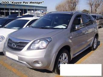 2008 Renault Samsung QM5 Pictures
