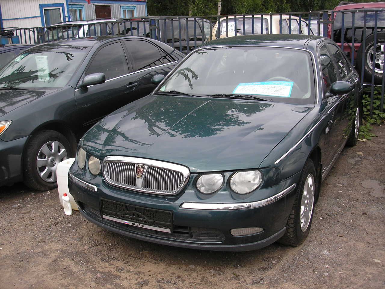 2000 rover 75 photos 2 5 gasoline ff automatic for sale. Black Bedroom Furniture Sets. Home Design Ideas