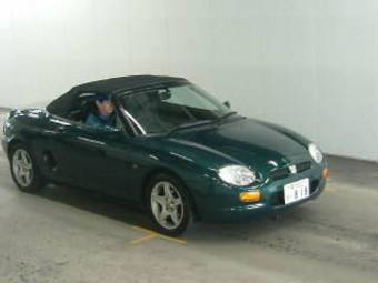 1996 Rover Mgf Review - Website of jotamite