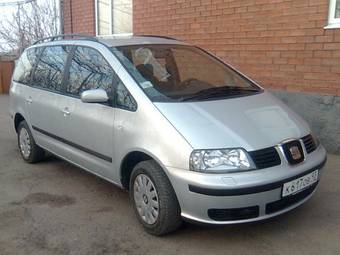 2001 SEAT Alhambra Photos