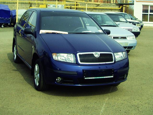 2006 skoda fabia pictures 1200cc gasoline ff manual for sale. Black Bedroom Furniture Sets. Home Design Ideas