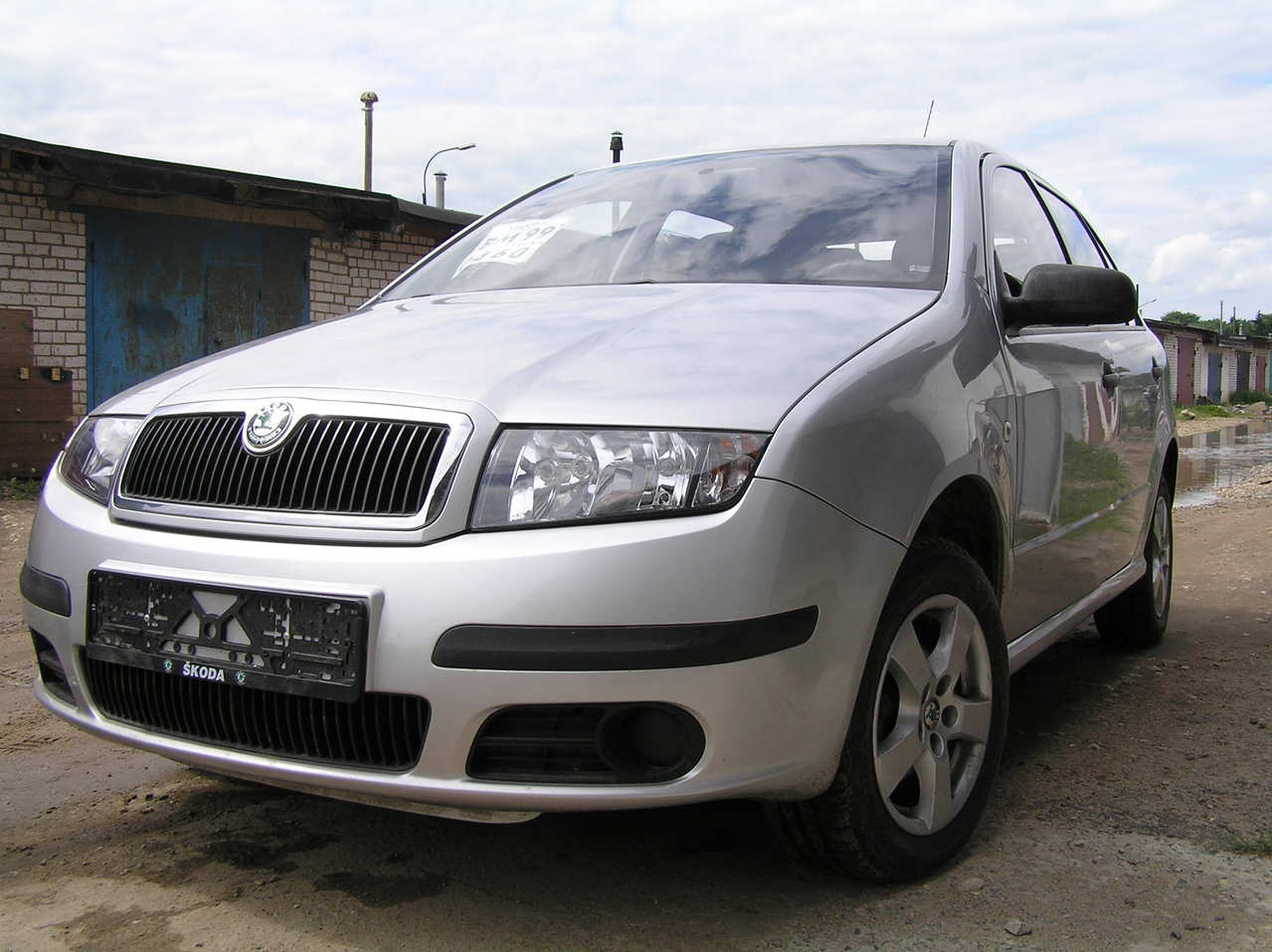 2006 skoda fabia 1 2 related infomation specifications weili automotive network. Black Bedroom Furniture Sets. Home Design Ideas