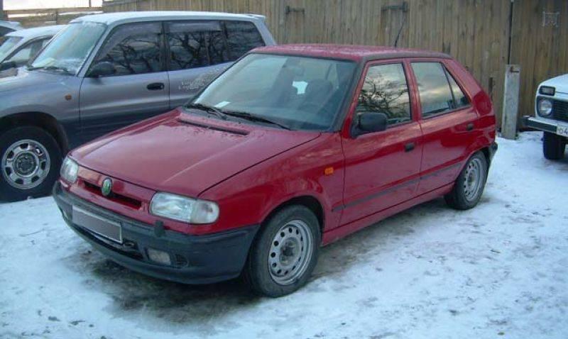 1996 skoda felicia pictures 1300cc gasoline ff manual