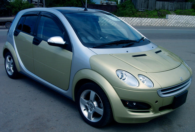 used 2006 smart forfour photos 1 3 gasoline ff automatic for sale. Black Bedroom Furniture Sets. Home Design Ideas