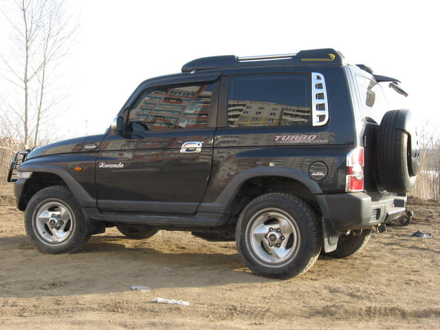 used 2000 ssang yong korando photos 2300cc diesel automatic for sale. Black Bedroom Furniture Sets. Home Design Ideas