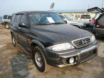 2002 Ssang YONG Musso Photos