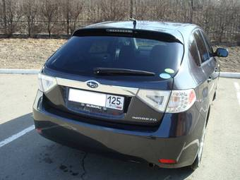 2008 Subaru Impreza Photos