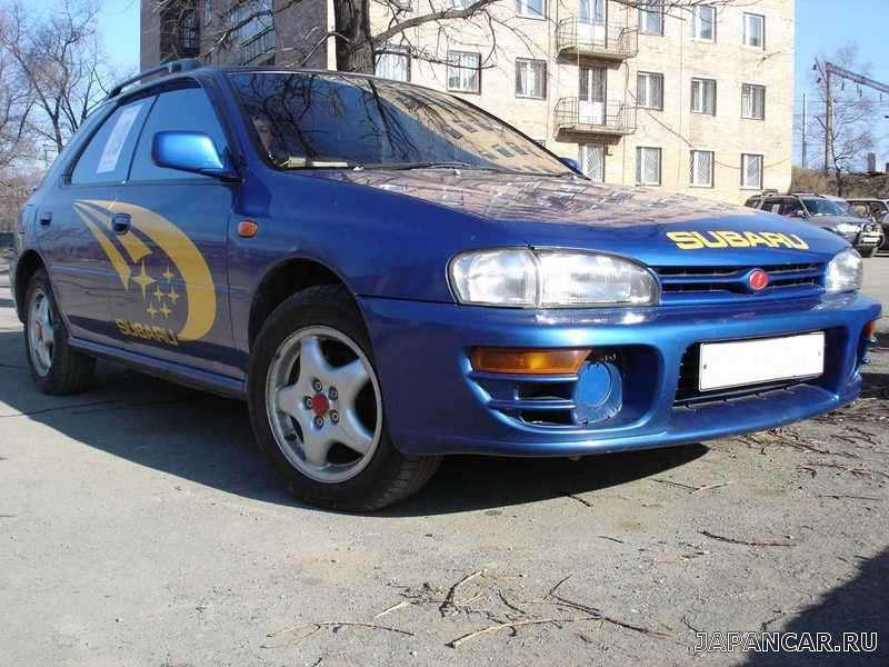 1995 Subaru Impreza Wagon Pictures 1800cc Gasoline Automatic For Sale