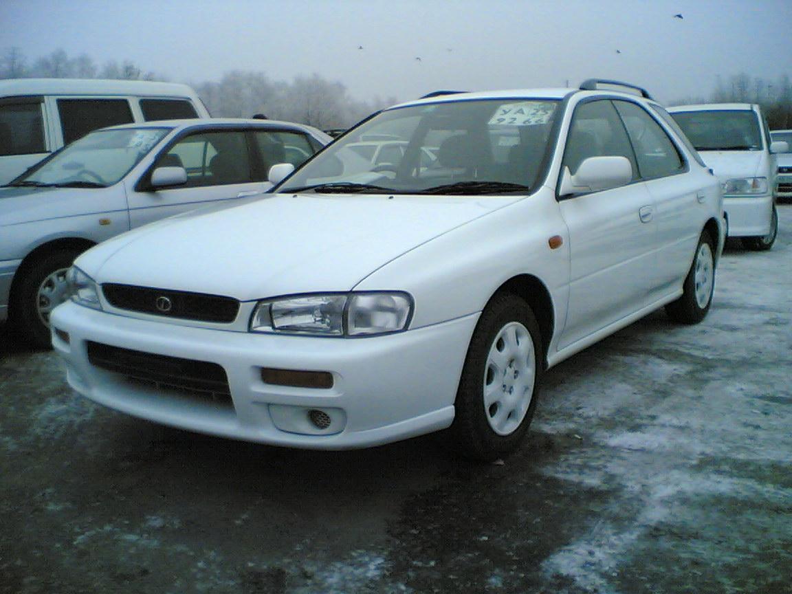 2000 Subaru Impreza Wagon Pictures 1500cc Gasoline Ff