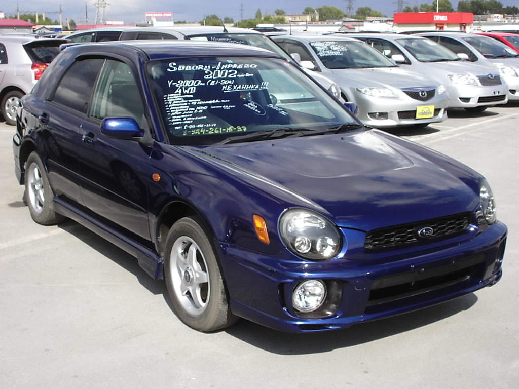 used 2002 subaru impreza wagon photos 2000cc gasoline manual for sale. Black Bedroom Furniture Sets. Home Design Ideas