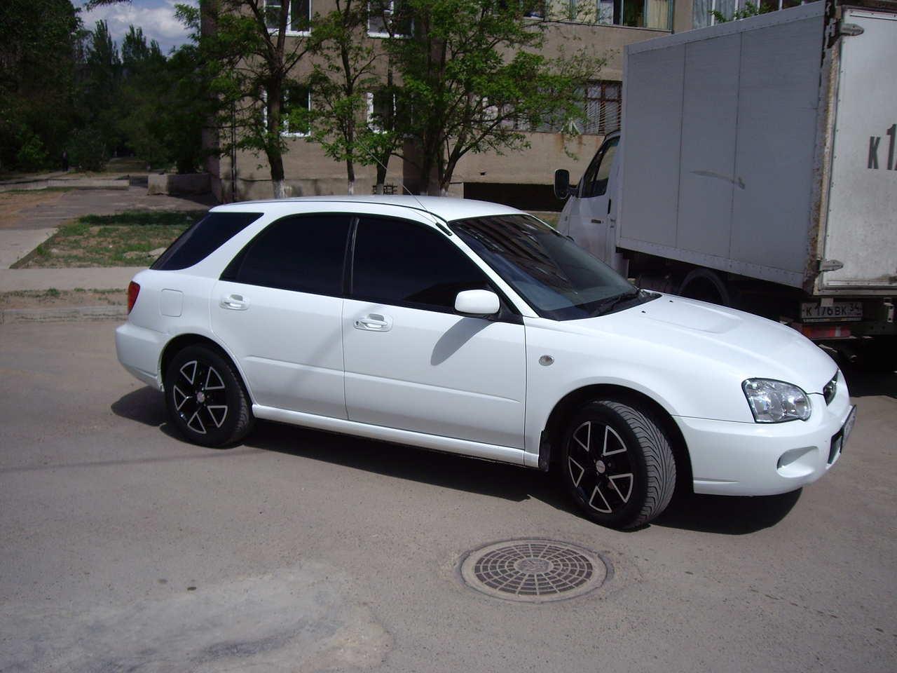 2003 Subaru Impreza Wagon Pictures 1 5l Gasoline