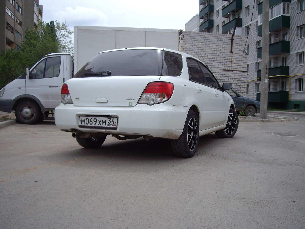 used 2003 subaru impreza wagon photos 1500cc gasoline automatic for sale. Black Bedroom Furniture Sets. Home Design Ideas
