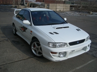 1999 subaru impreza wrx wallpapers gasoline. Black Bedroom Furniture Sets. Home Design Ideas