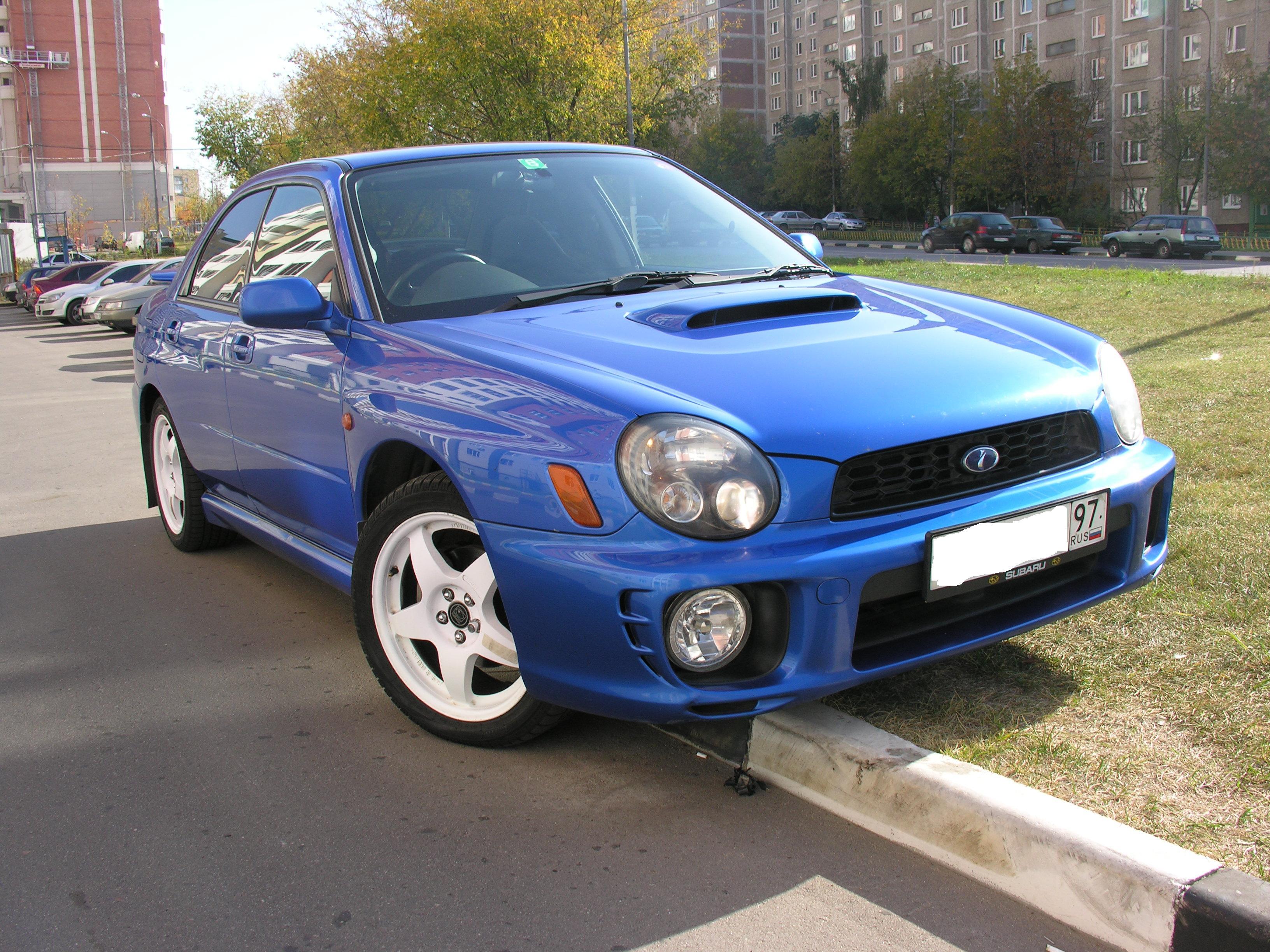 2000 Subaru Impreza Wrx Pictures 2000cc Gasoline