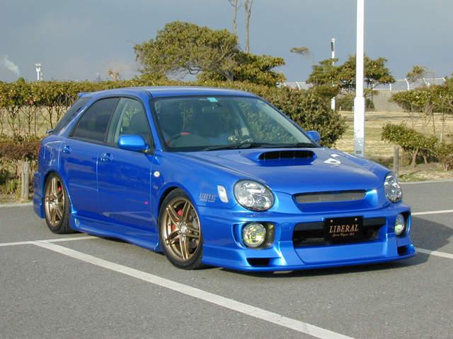 Subaru Impreza Wrx A B Orig