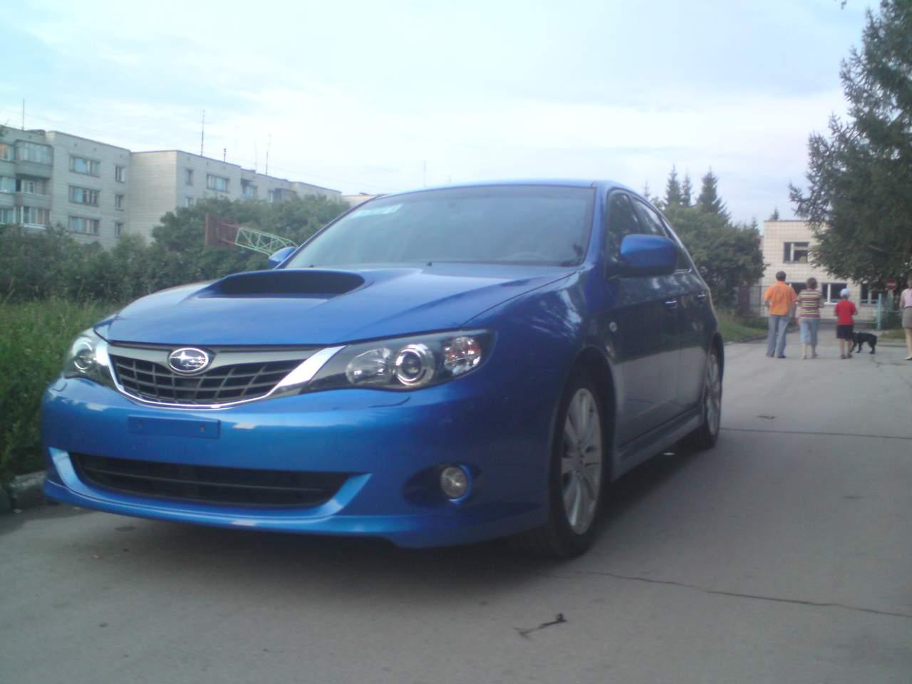 2007 Subaru Impreza Wrx Pics 2 5 Gasoline Manual For Sale
