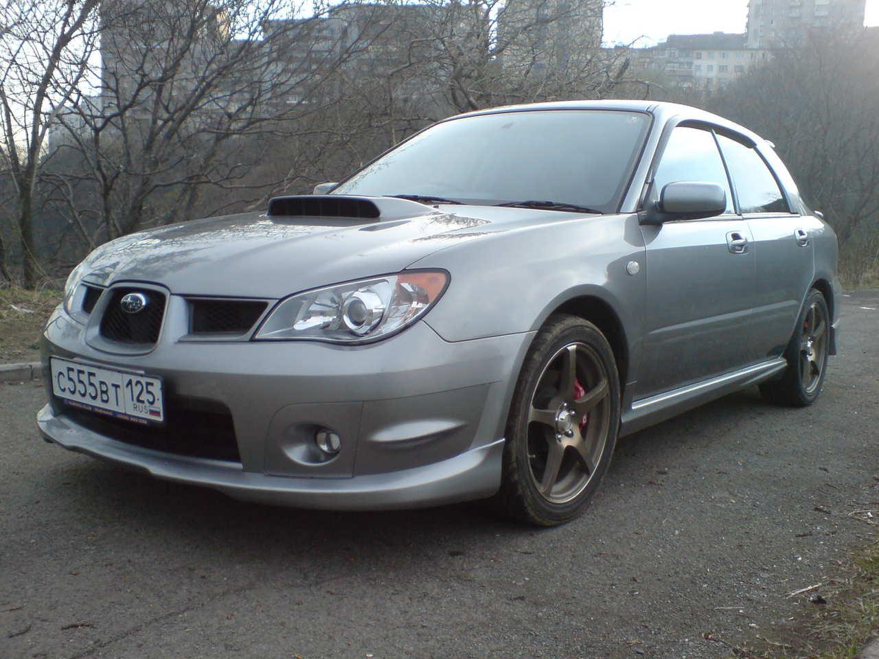 2007 Subaru Impreza Wrx Pictures 2 0l Gasoline