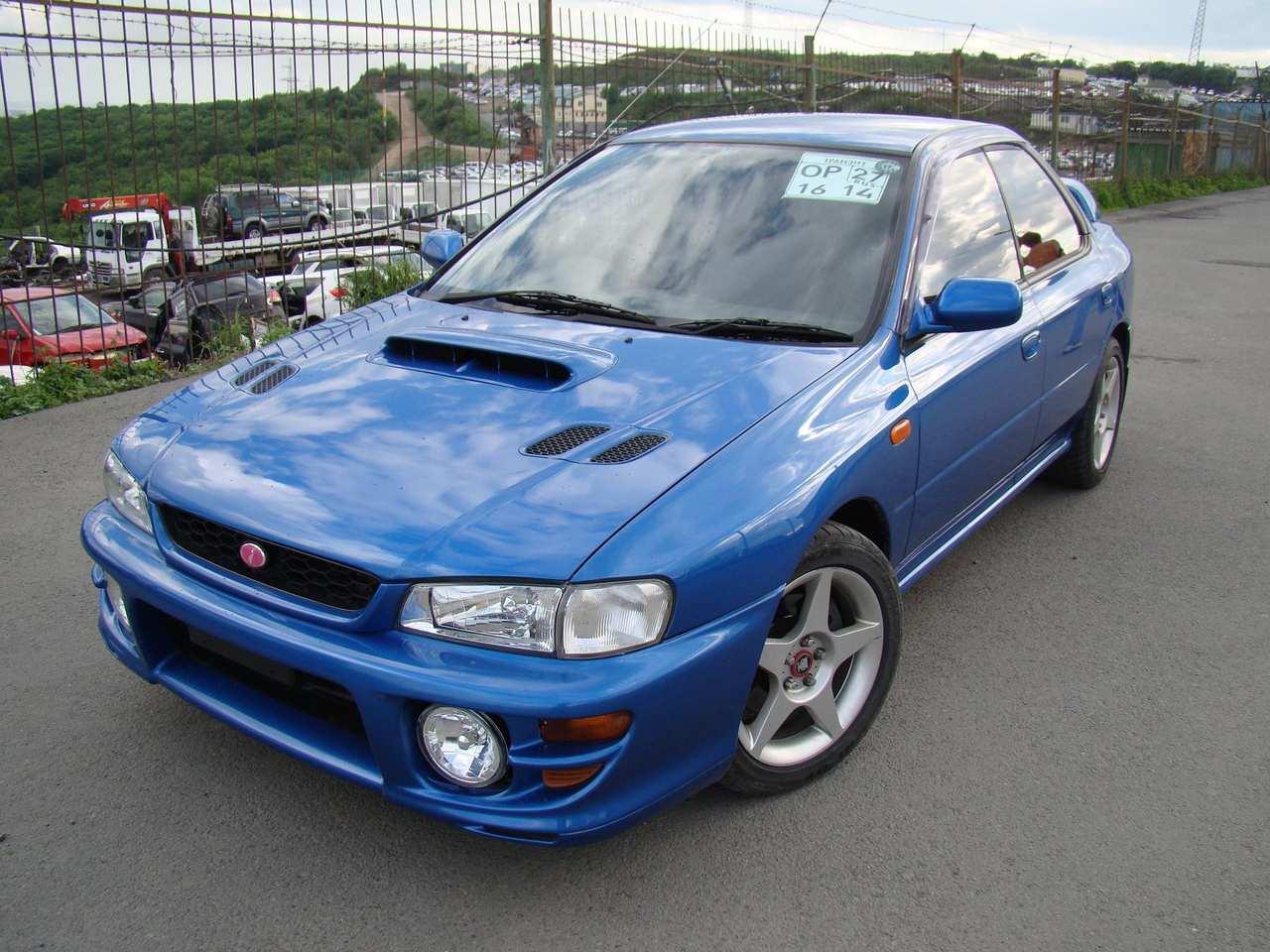 1999 Subaru Impreza WRX STI specs, Engine size 2.0l., Fuel ...