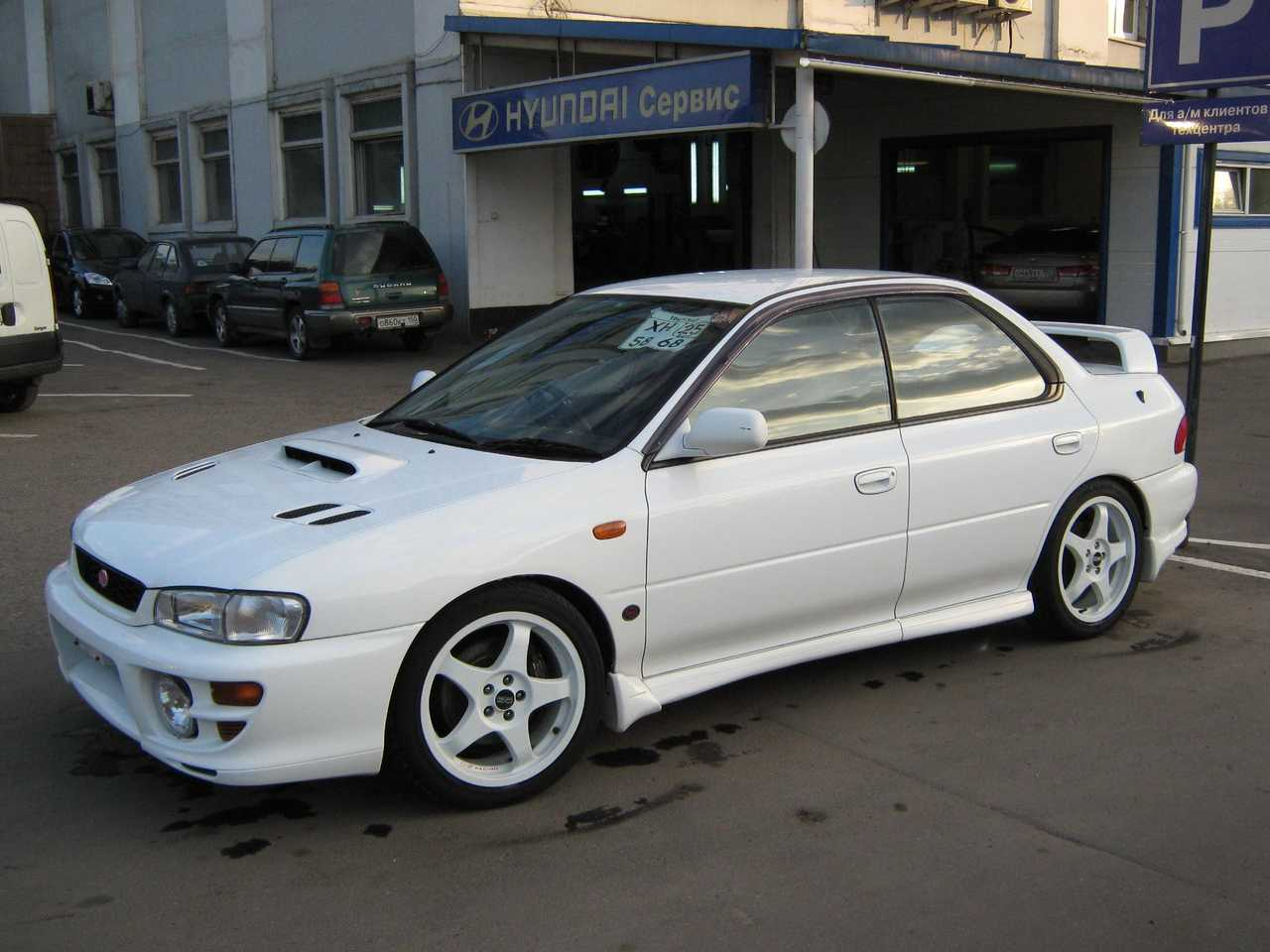 1999 subaru impreza wrx sti images 2000cc gasoline manual for sale. Black Bedroom Furniture Sets. Home Design Ideas