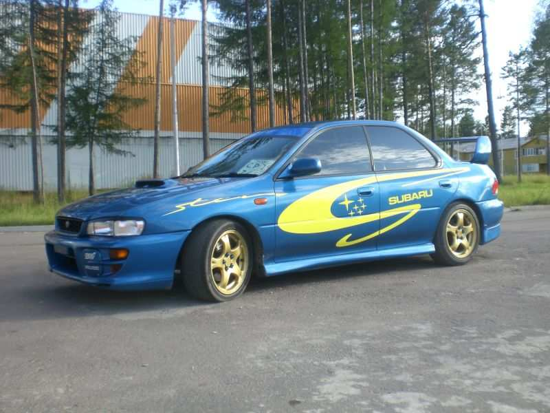 1999 subaru impreza wrx sti for sale 2 0 gasoline. Black Bedroom Furniture Sets. Home Design Ideas