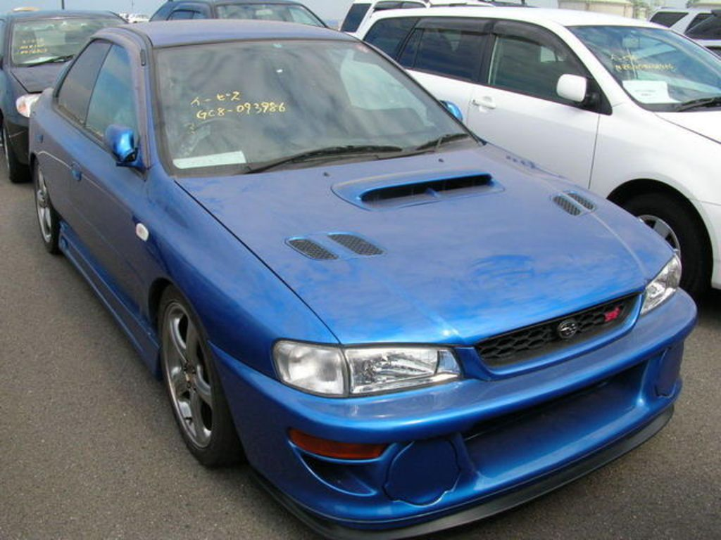 2000 subaru impreza wrx sti for sale. Black Bedroom Furniture Sets. Home Design Ideas