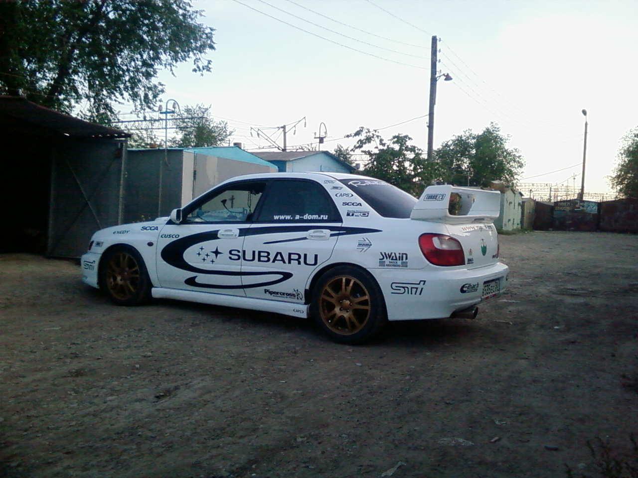 2000 Subaru Impreza Wrx Sti Wallpapers 2 0l Gasoline