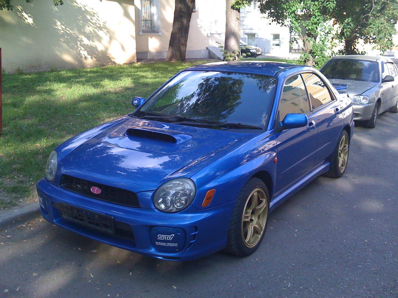 2001 subaru impreza wrx sti pictures 2 0l gasoline manual for sale