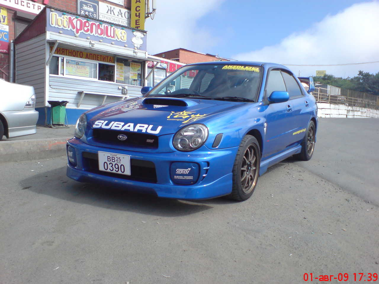2001 subaru impreza wrx sti pictures, 2.0l., gasoline, manual for