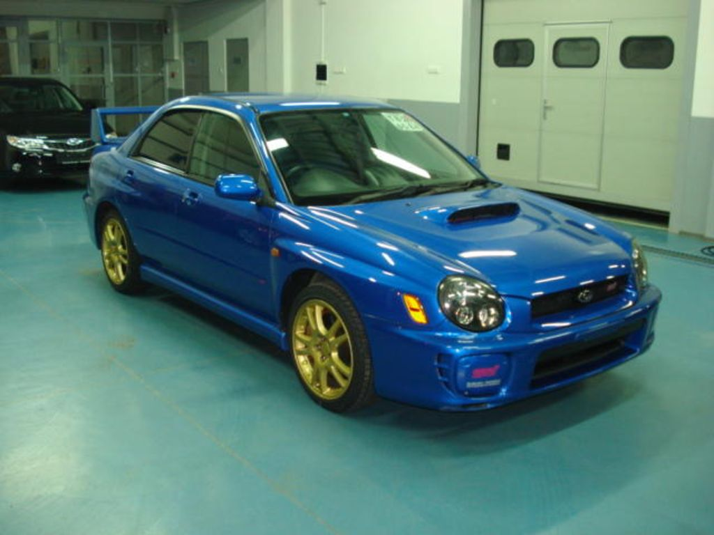 2002 Subaru Impreza WRX STI Wallpapers