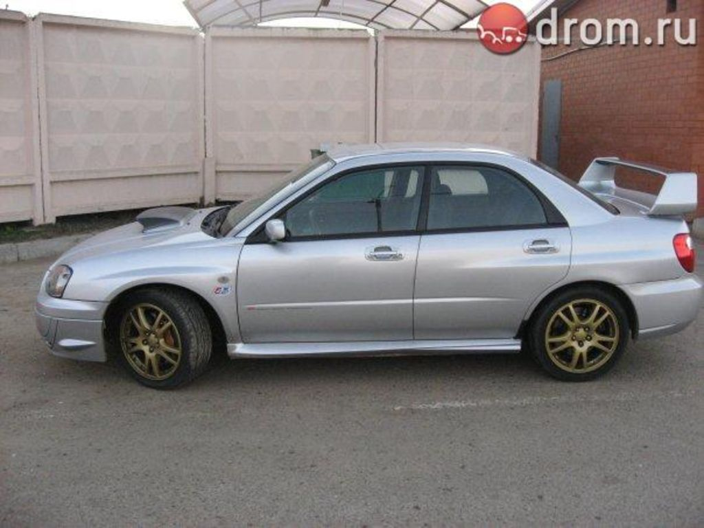 2003 subaru impreza wrx sti for sale. Black Bedroom Furniture Sets. Home Design Ideas