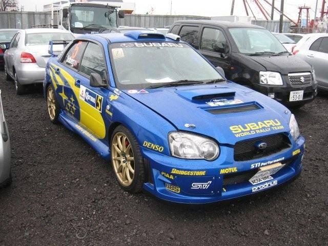 2004 Subaru Impreza Wrx Sti Wallpapers 2 0l Gasoline