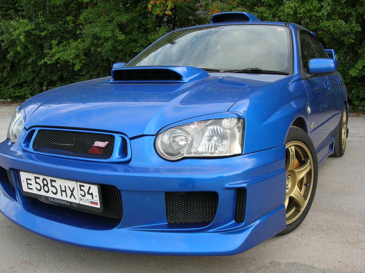 2004 Subaru Impreza WRX STI specs, Engine size 2000cm3 ...