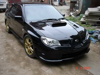 planet d 39 cars 2006 subaru impreza wrx sti. Black Bedroom Furniture Sets. Home Design Ideas