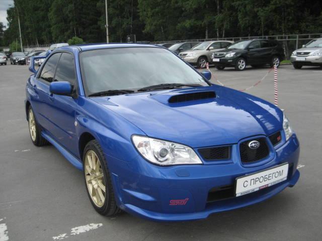 2007 Subaru Impreza Wrx Sti Pics 2 5 Gasoline For Sale