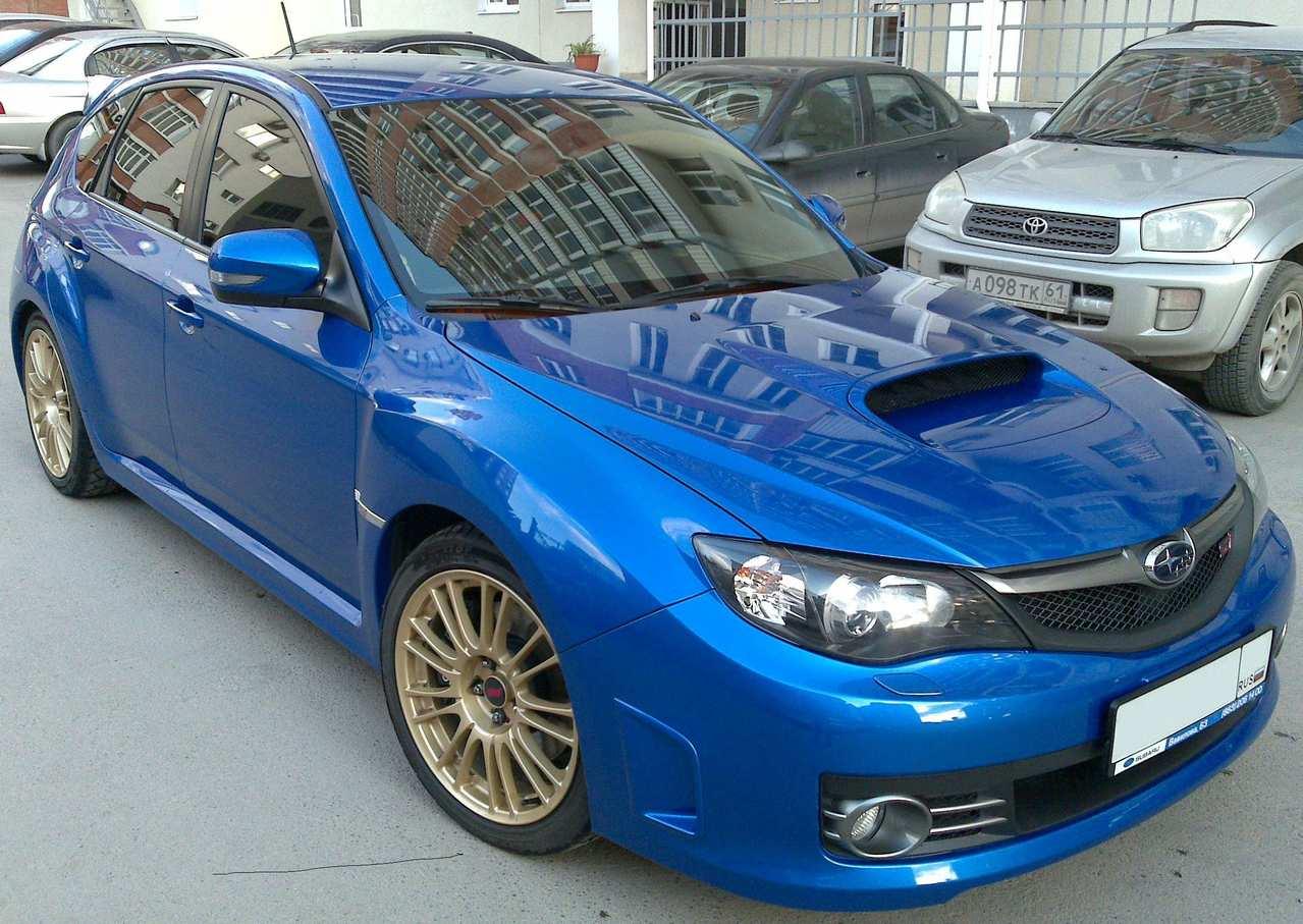 Subaru Impreza Hatchback For Sale >> Used 2008 Subaru Impreza WRX STI Photos, 2500cc., Gasoline ...