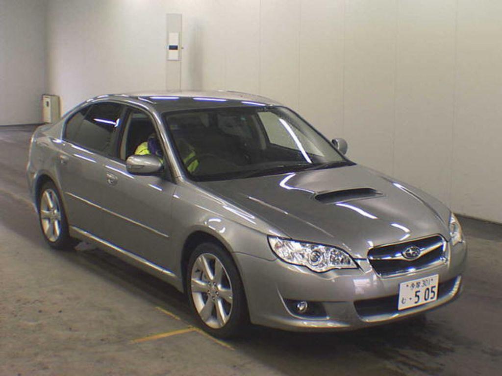 2007 Subaru Legacy B4 Wallpapers