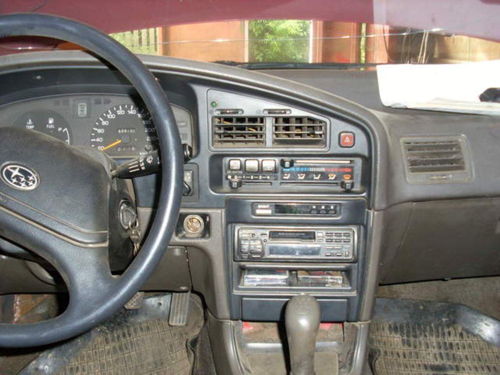 1990 subaru legacy wagon photos