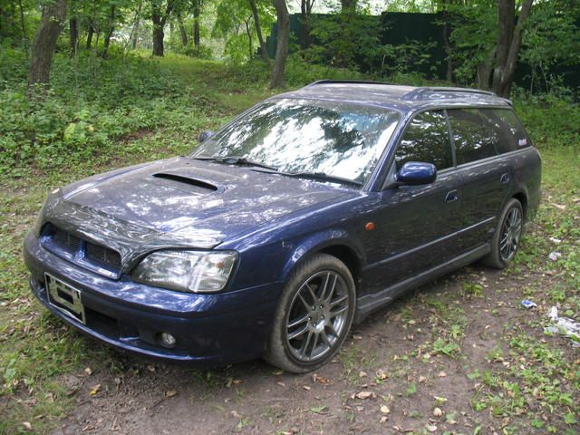 Subaru Legacy Wagon 1996. Subaru Legacy Wagon 2001.