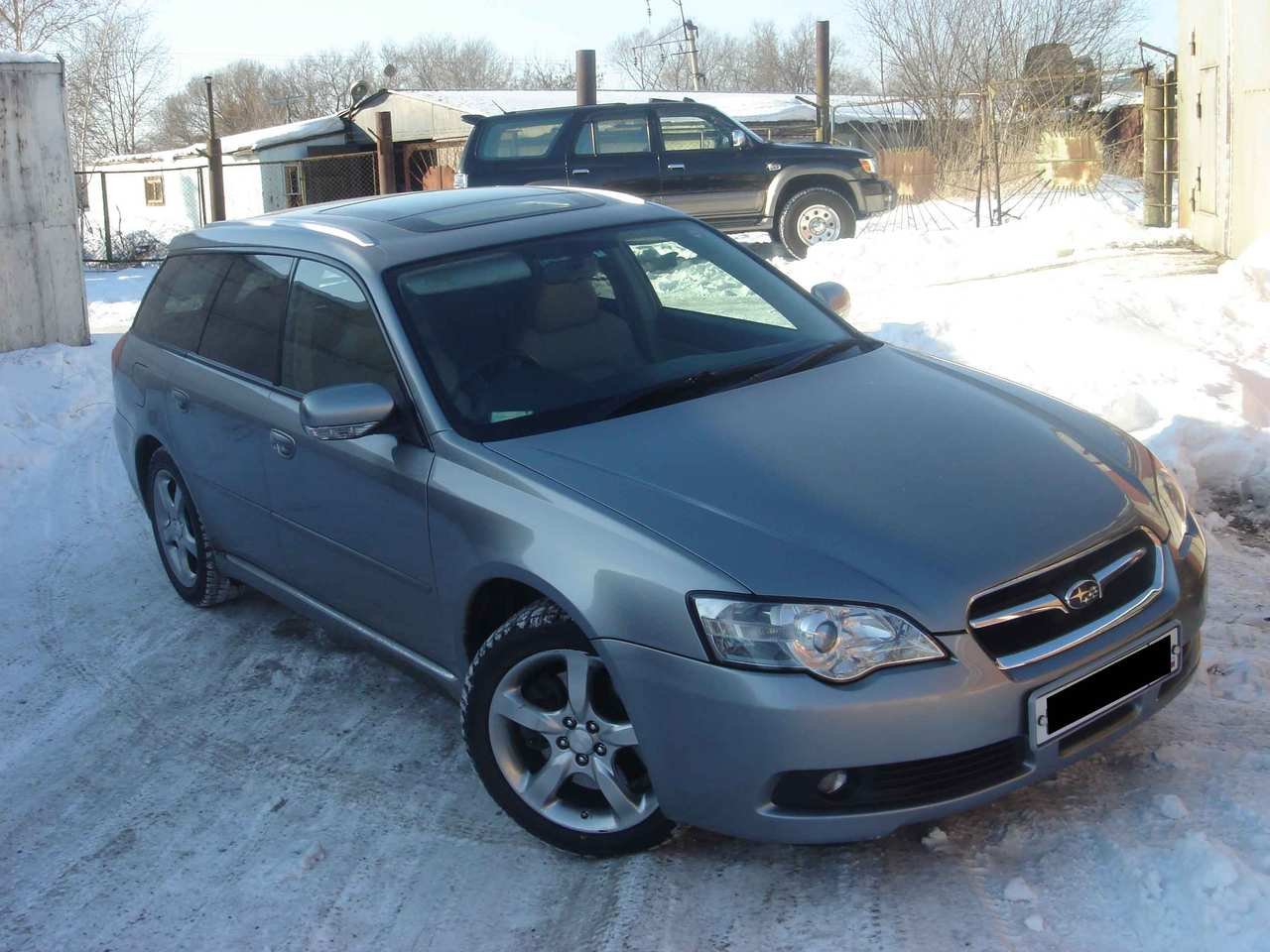 2004 Subaru Legacy Wagon Wallpapers 3 0l Gasoline