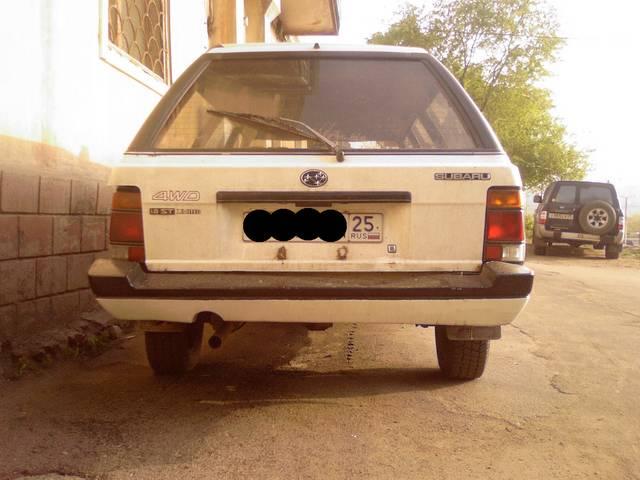 1985 Subaru Leone Pictures