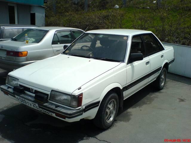 1987 Subaru Leone Pictures For Sale