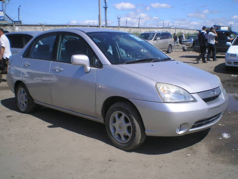2001 Suzuki Aerio Sedan Photos, 1.5, Gasoline, Automatic For Sale