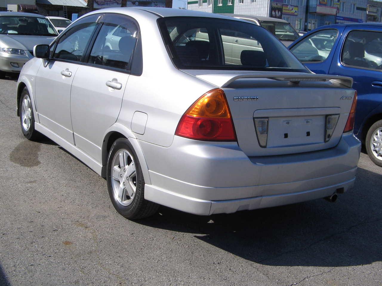 Suzuki Aerio Sx For Sale
