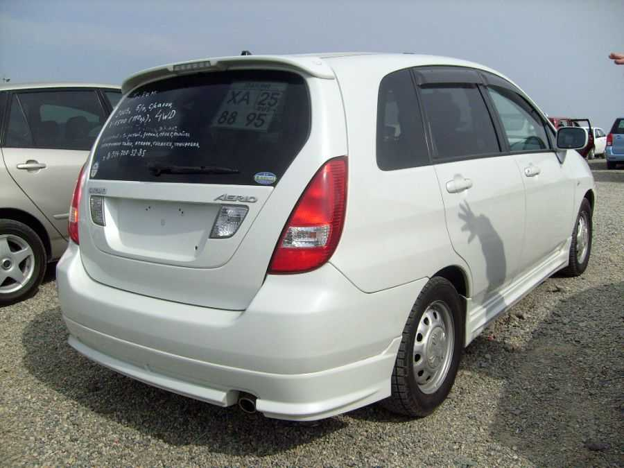 2003 suzuki aerio sx pictures gasoline automatic. Black Bedroom Furniture Sets. Home Design Ideas
