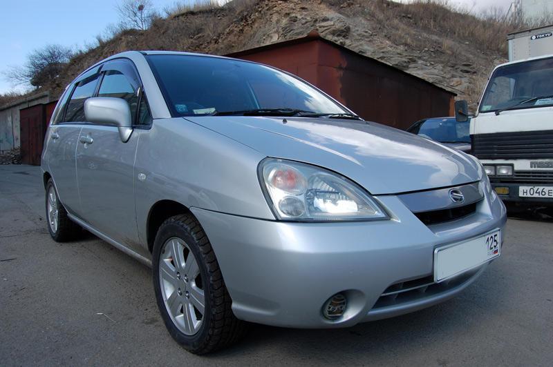 2001 Suzuki Aerio Wagon Pictures, 1.5l., Gasoline, Automatic For Sale
